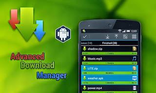 تطبيقات مدفوعة : تحميل افضل تطبيق لتحميل الملفات لاجهزة الاندرويد ADM Pro