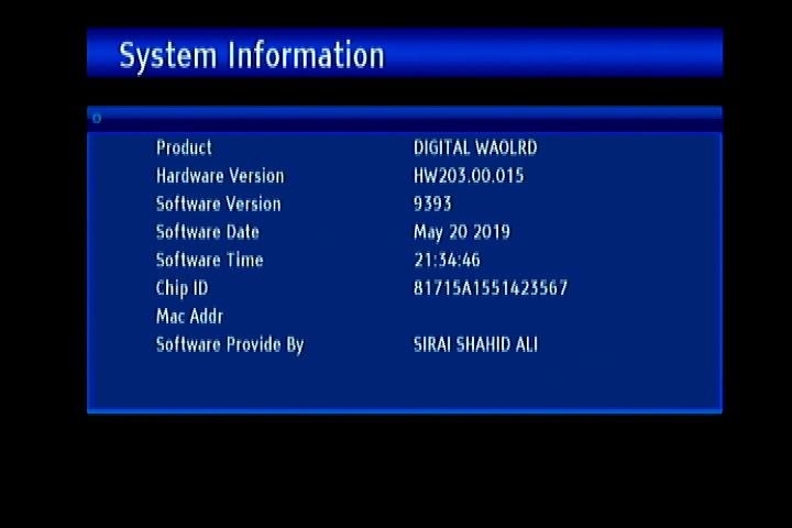 GX6605S HW203 00 015 POWERVU KEY SOFTWARE NEW UPDATE 105E
