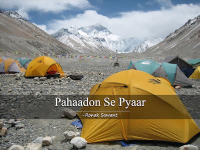 Cover Photo: Pahaadon Se Pyaar - Ronak Sawant