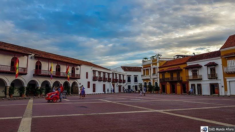 Plaza de los Aduana - O que fazer em Cartagena, Colômbia