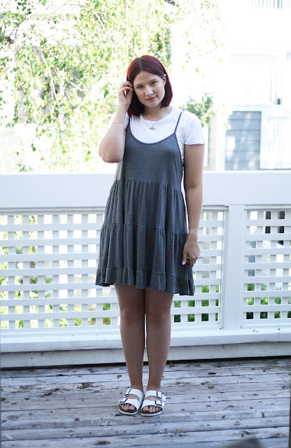 Birkenstock, White, Grey, Fashion blogger, womenswear, ootd, affordable fashion