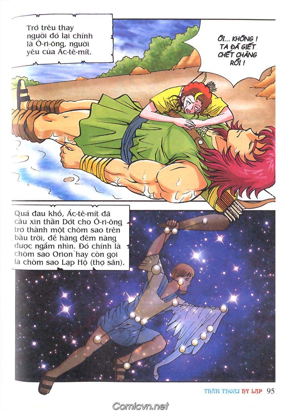 Thần Thoại Hy Lạp Màu - Chapter 58: Cuộc chiến định mệnh 2 - Pic 42