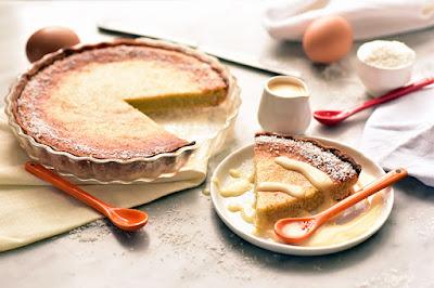 Gâteau à la noix de coco pâtissière