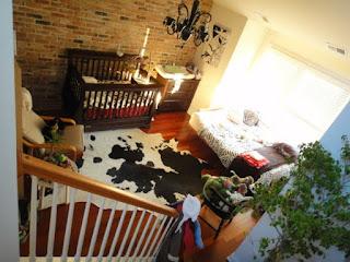 cuarto rústico bebé