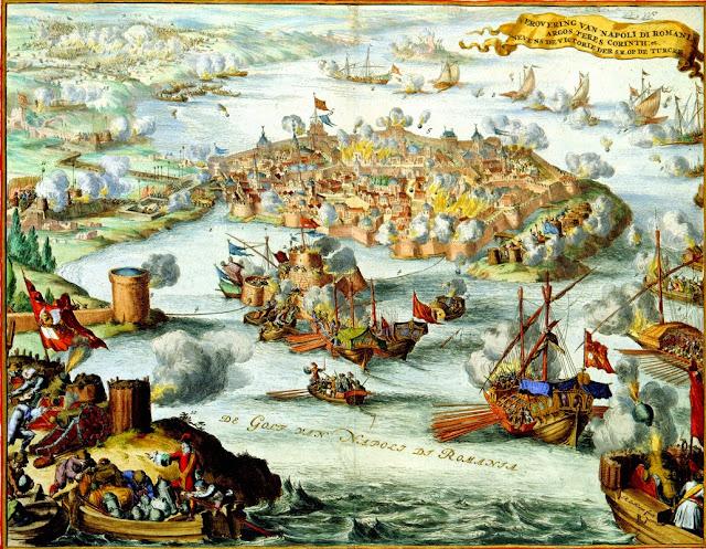 Ιούλιος 1715: Ξεκινά η δεύτερη τουρκοκρατία για το Ναύπλιο - Θρήνοι για την πόλη