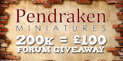 Pendraken Miniatures 200k = £100 - Forum Giveaway