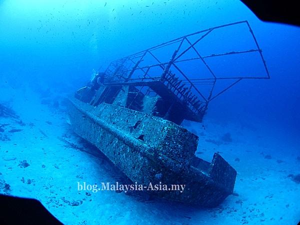 Sabah Wreck Diving