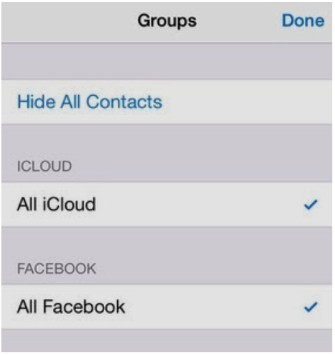 how to remove facebook contacts from iphone how to delete contacts from iphone zee droid 20225