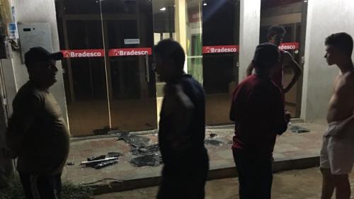 VARJOTA -CE: QUADRILHA ATACA A CIDADE NO SEGUNDO ASSALTO A BANCO NO CEARÁ EM 2018
