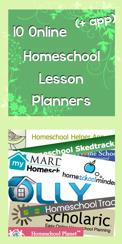 Paper Tape  Pins 10 Online (+ App) Homeschool Lesson Planners