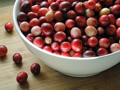 Picture of fresh Cranberries