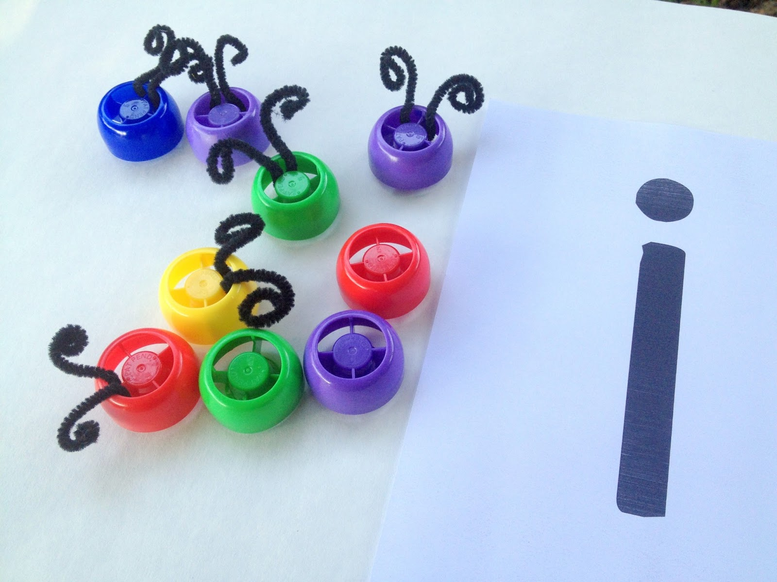 The Educators Spin On It Letter Bugs Busy Bag