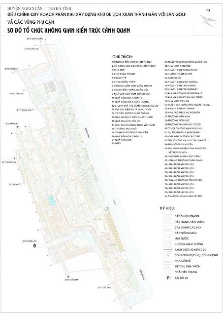 Quy hoạch khu đô thị Xuân Thành