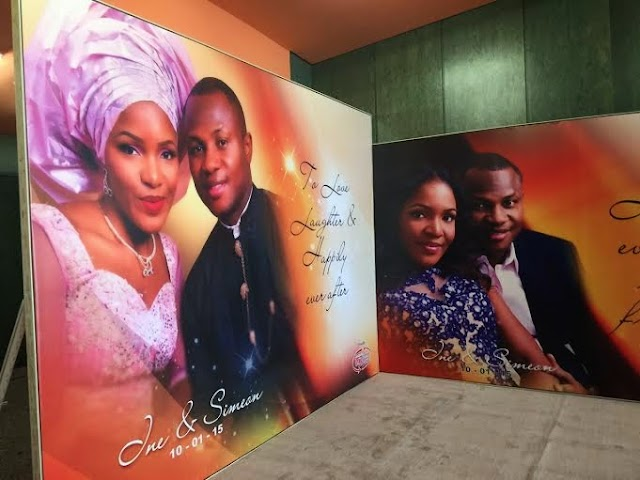 President Goodluck Jonathan's foster daughter, Inebharapu wedding happening in Abuja