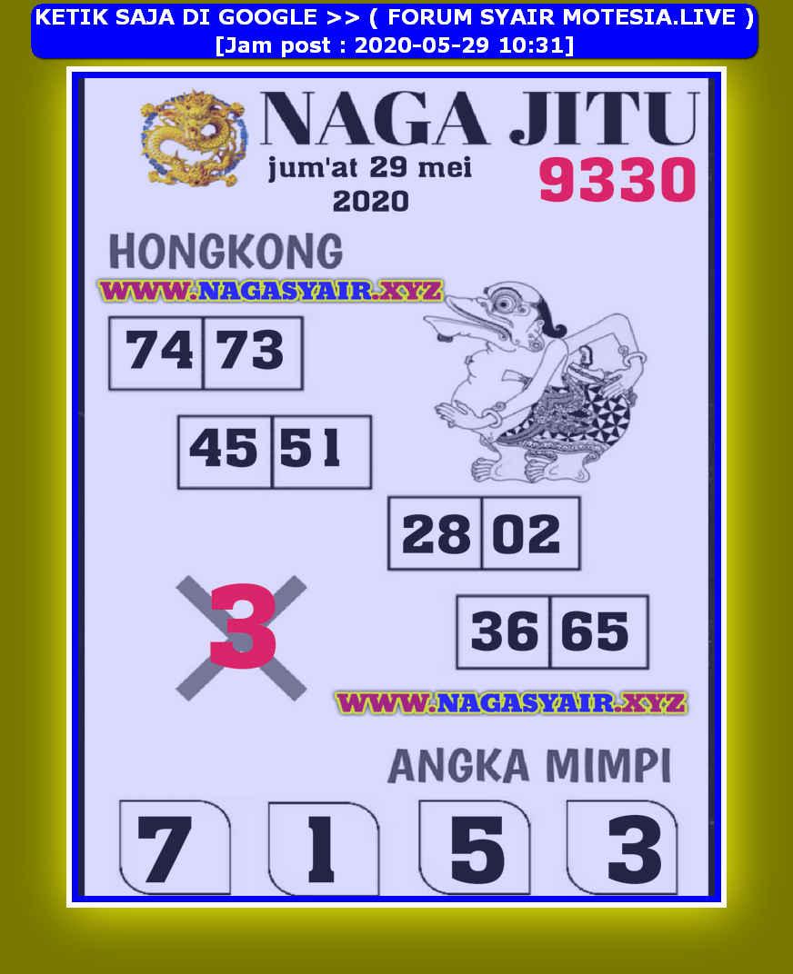 Kode syair Hongkong Jumat 29 Mei 2020 42