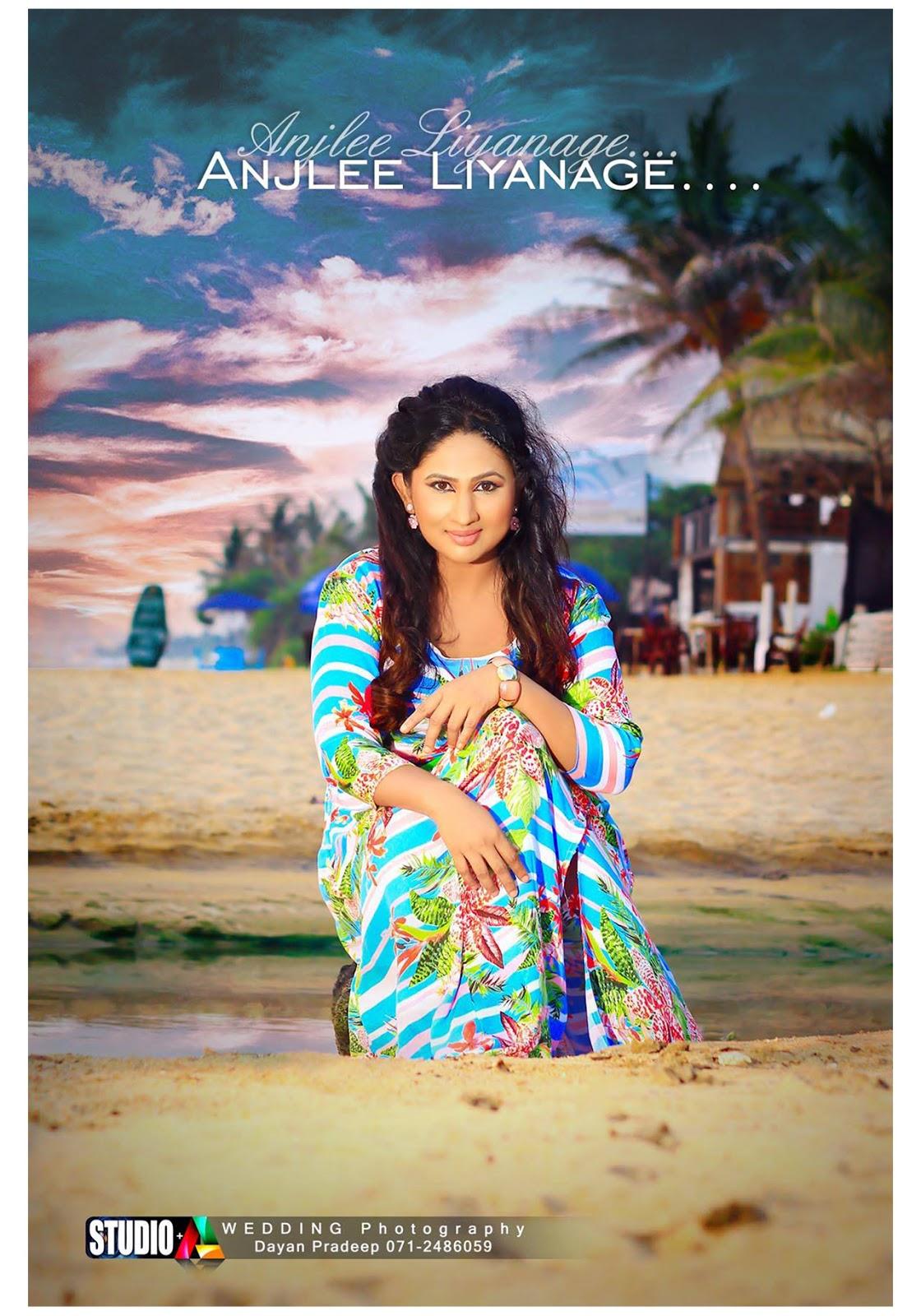 Actress  Models Anjali Liyanage - Sri Lankan Beautiful -7787