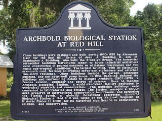 Marcador histórico en Archbold