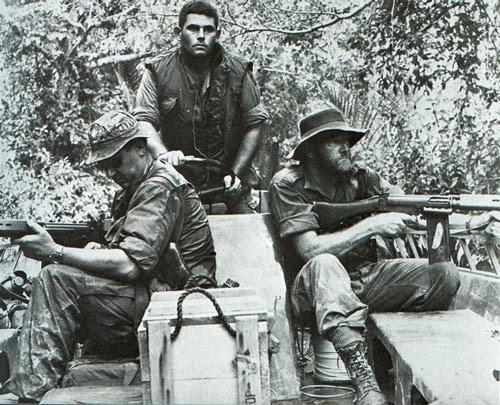 Les Australiens et la guerre du Viètnam . Soldats+australiens