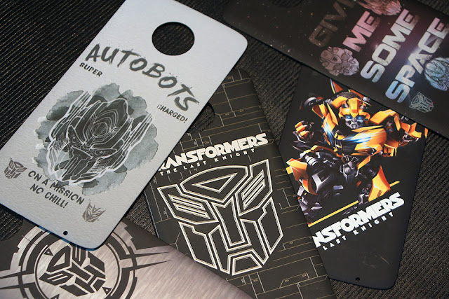 These Official Transformer Moto-Mods looks absolutely dope