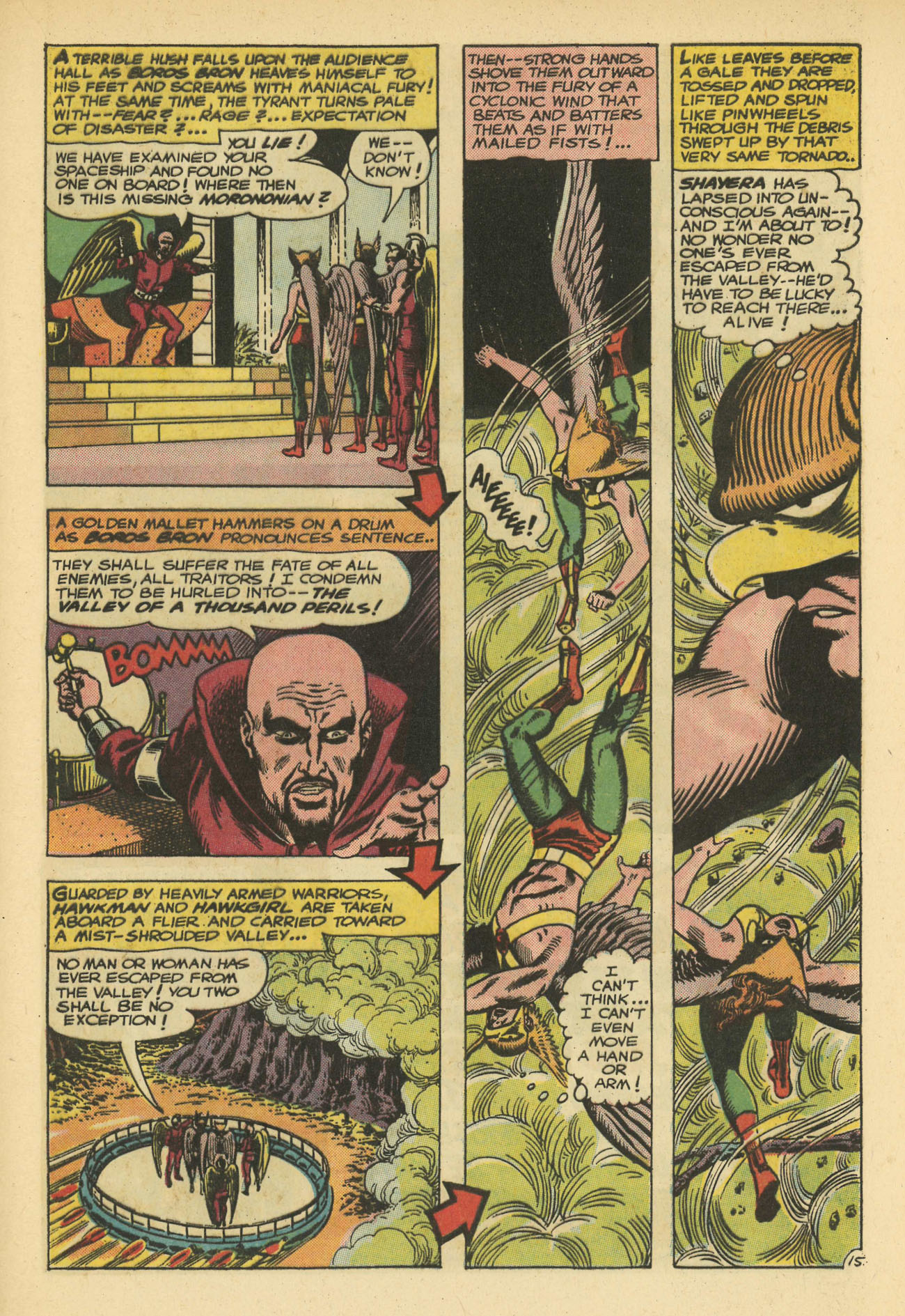 Hawkman (1964) issue 11 - Page 21