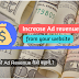 [Hindi] Tips To Increase Website Ad Revenue, Earning कैसे बढाए?