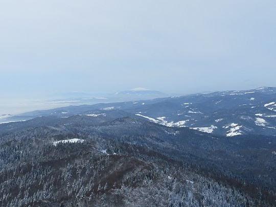 W stronę Babiej Góry.