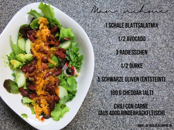 Taco Salad Zutaten