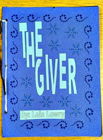 The giver memory book project