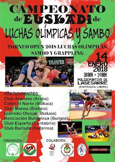 campeonato de Euskadi de lucha