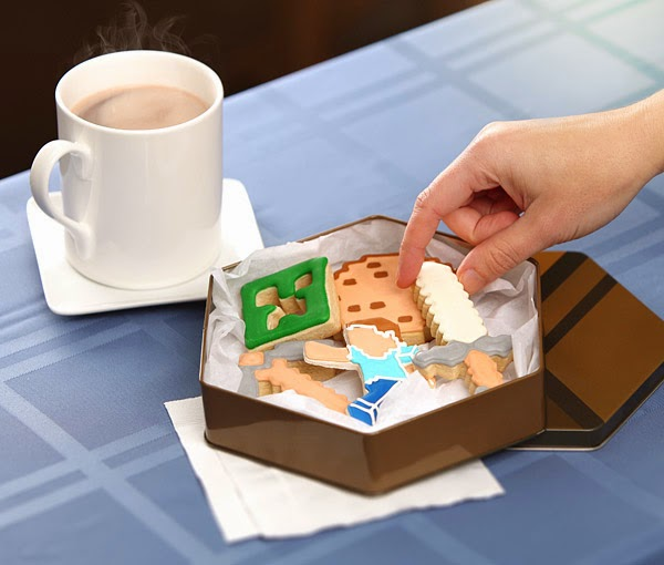 4. Minecraft Cookie Cutter