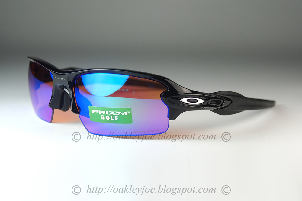 c019527109cbe polished black + prizm golf  245 lens pre coated with Oakley hydrophobic  nano solution complete set with box