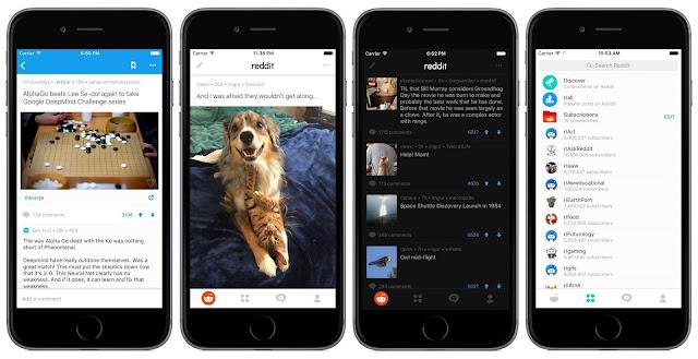 Reddit agora tem um app oficial para Android e iPhone
