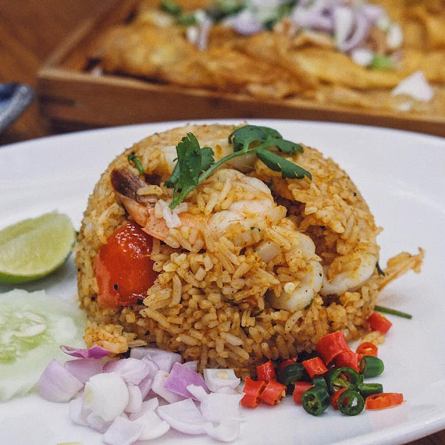 Tom Yam Seafood Fried Rice