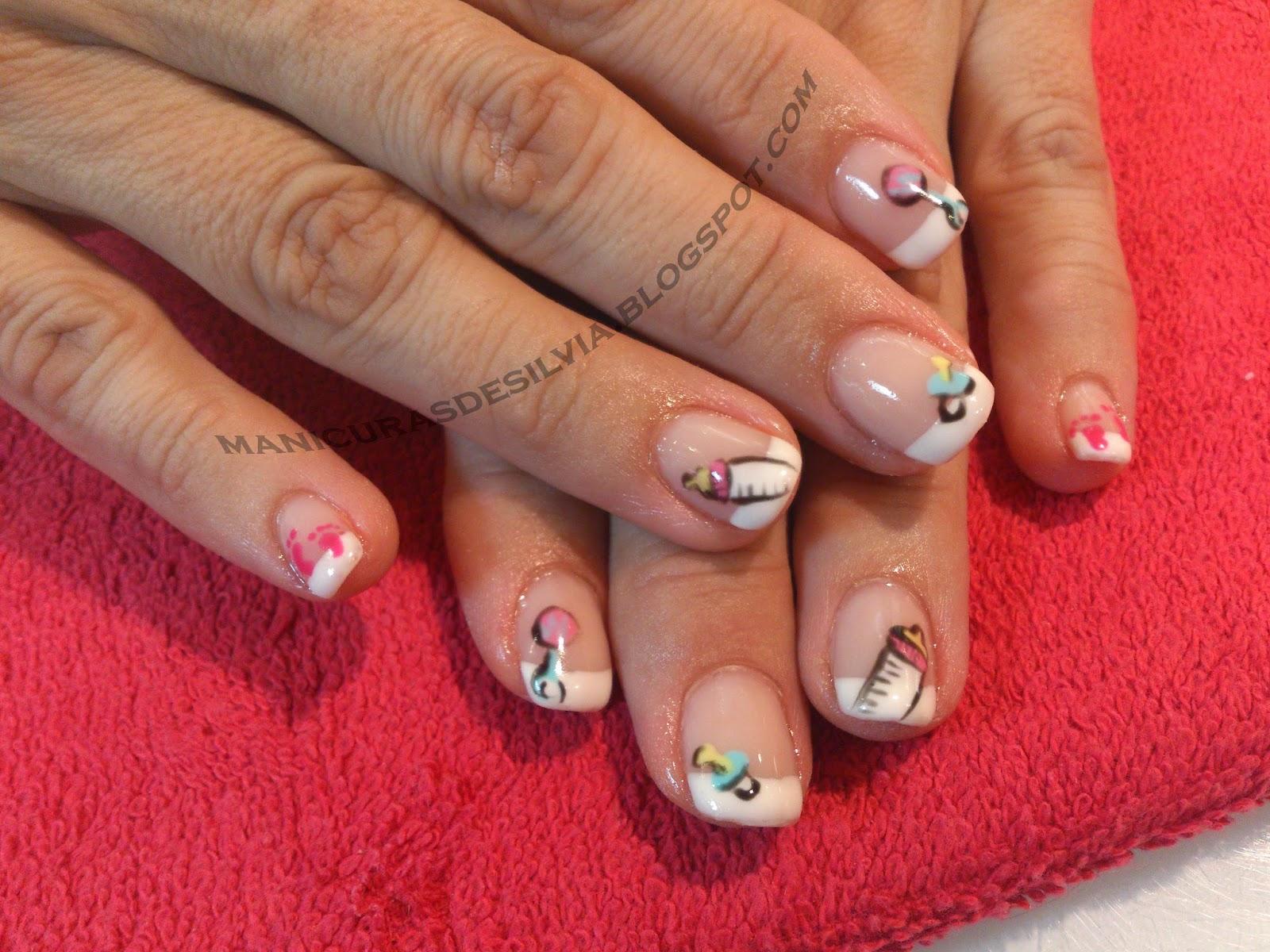 Manicuras De Silvia Uñas De Bebé Baby Nails