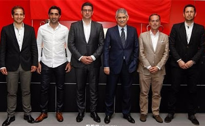 Benfica Futebol Equipa Técnica