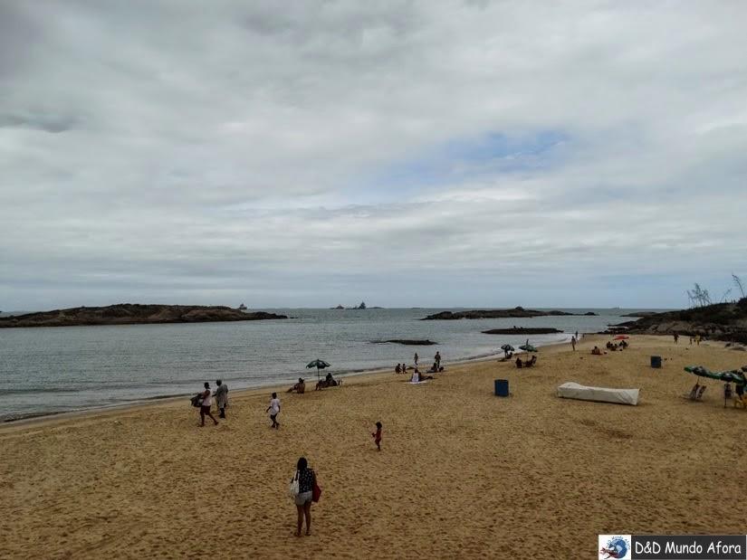 Praia de Itapoã - O que fazer em Vila Velha - Espírito Santo