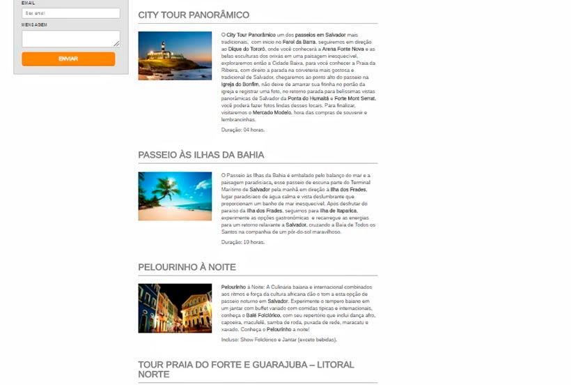 Passeios e tours na Bahia - Mais Bahia Turismo