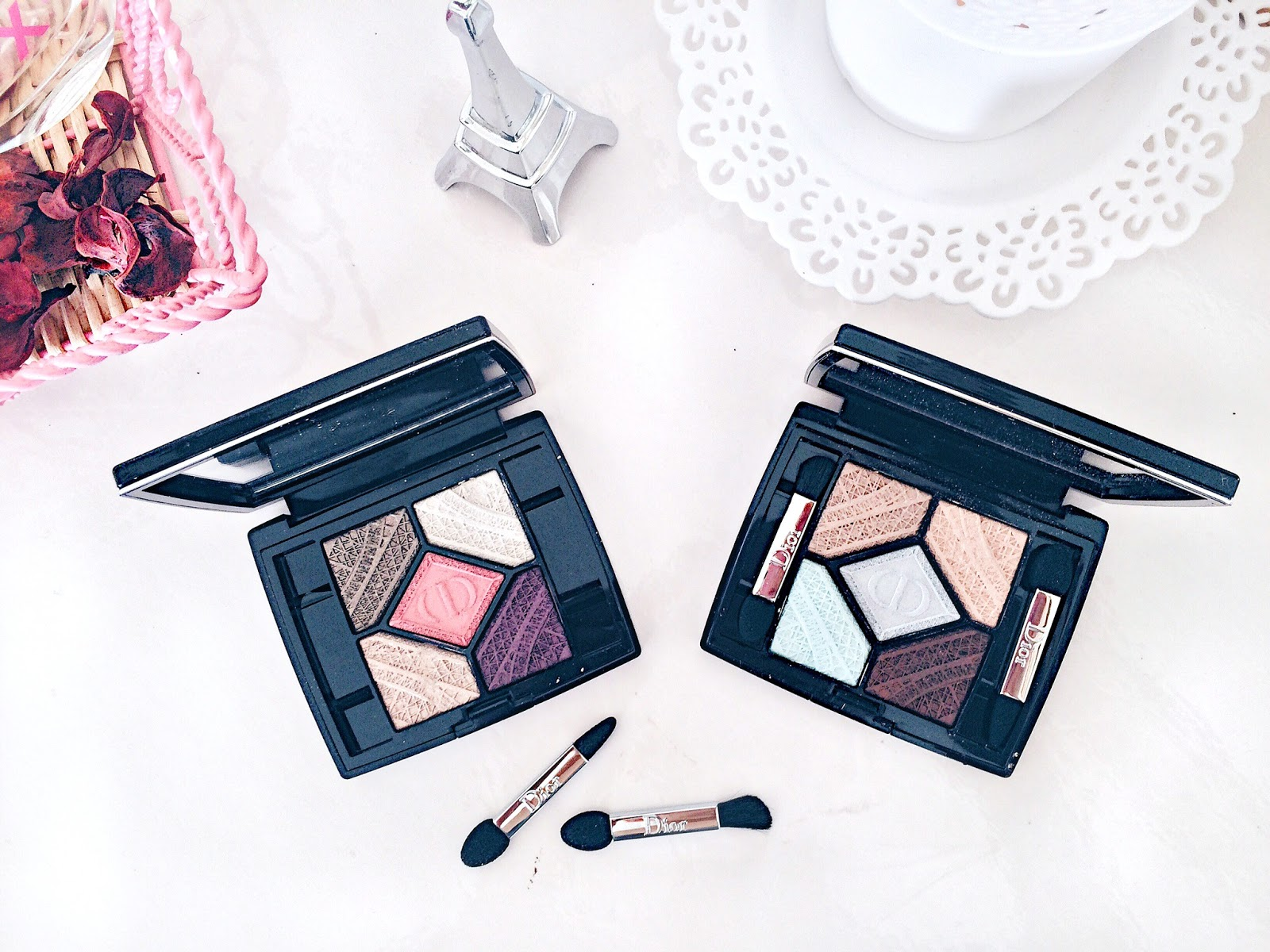 dior luxury makeup eyeshadow palette review