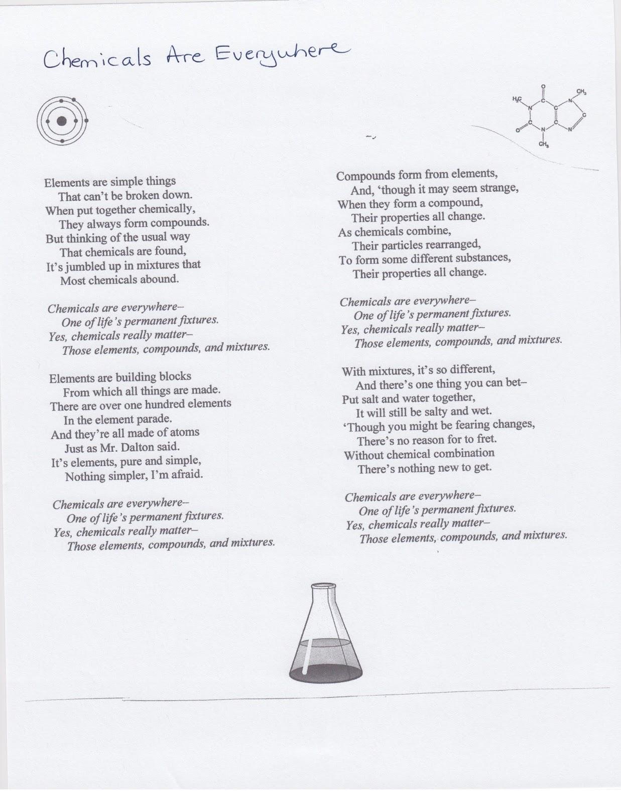 Drden S Chemistry Class October