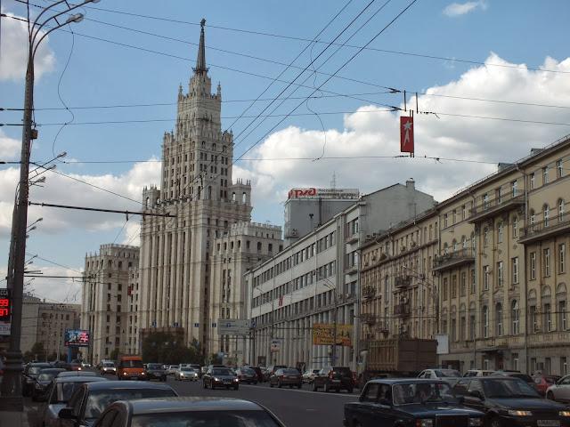 Hotel siete hermanas Moscú