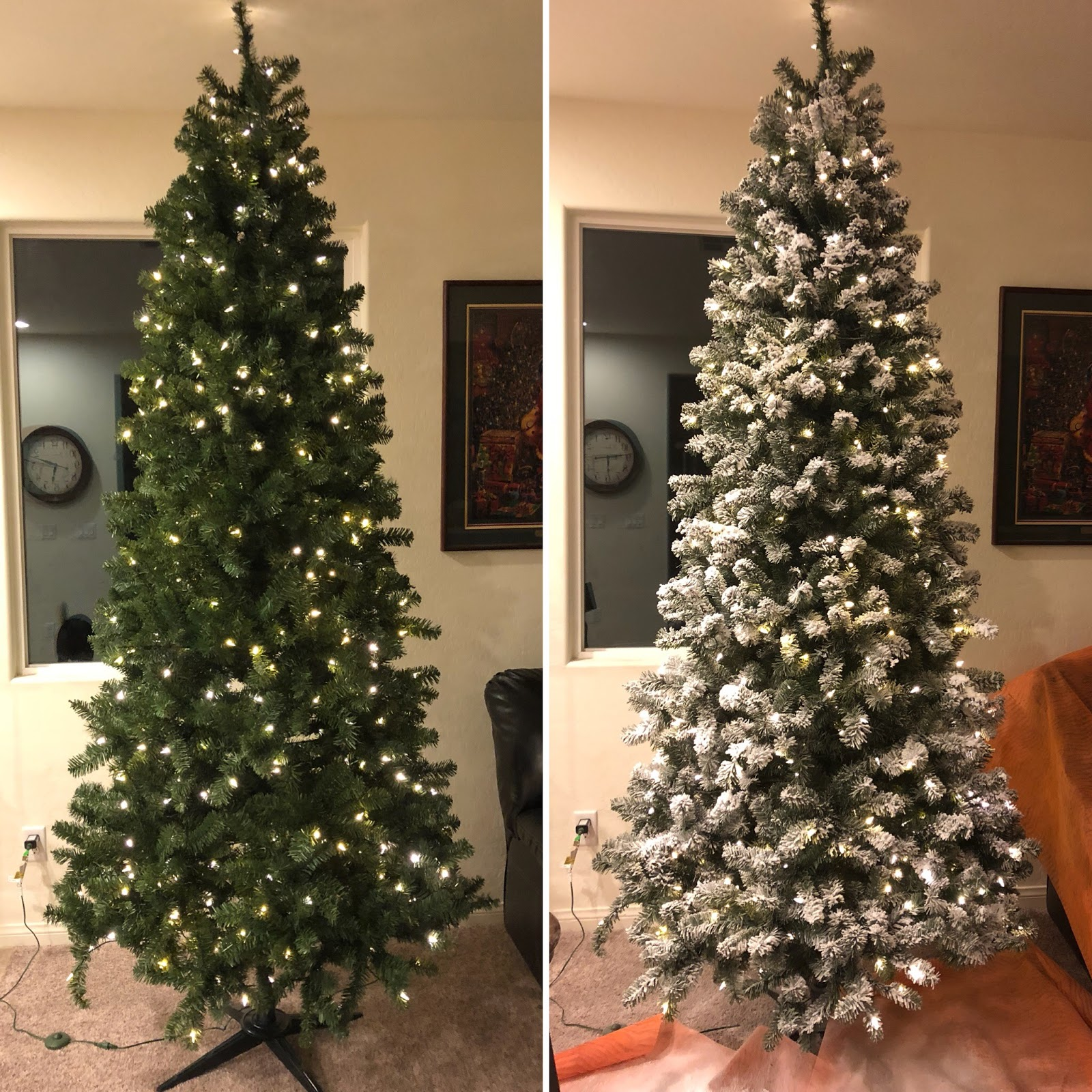 The Mom Hack: How to Flock your Christmas Tree...