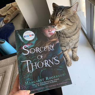 Sorcery of Thorns with Pickles.