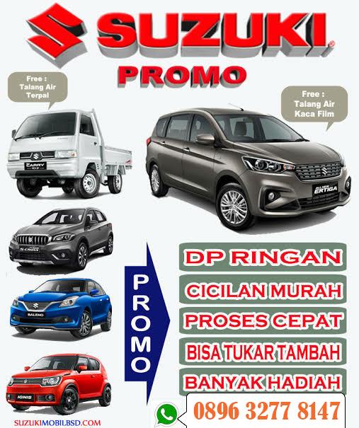 Promo Khusus Mobil Suzuki