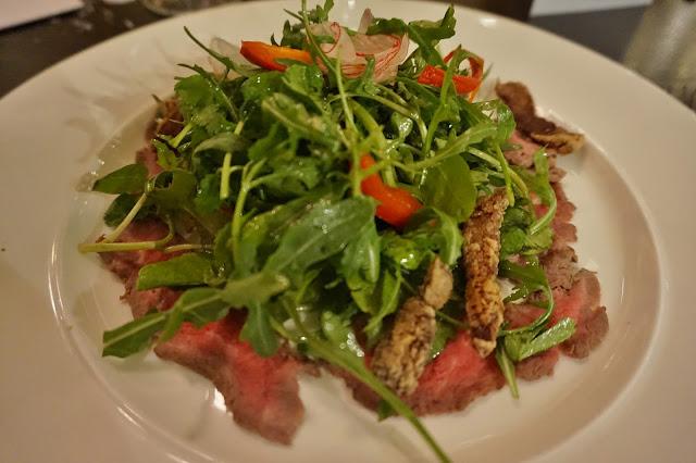 Gusto Leeds beef salad
