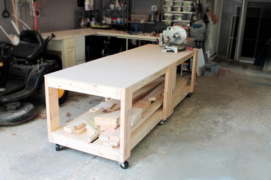Tavolo Da Lavoro Con Bancali : Projects idea tavolo fai da te con bancali