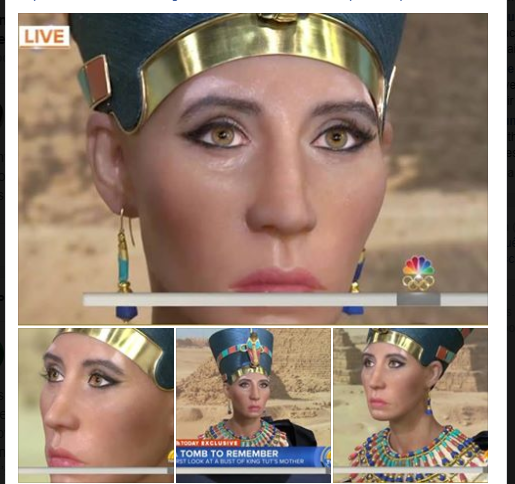 Nope! This Is Not The Egyptian Queen Nefertiti!! | The Old Black Church