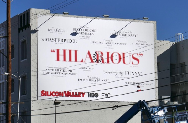 Silicon Valley season 5 HBO FYC billboard