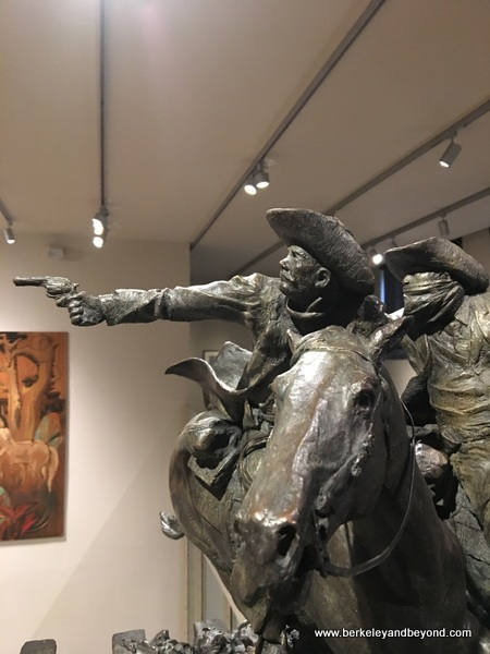 """Sundance and the Wild Bunch"" by Greg Kelsey at The Briscoe Western Art Museum in San Antonio, Texas"