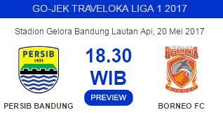 Persib vs Borneo FC