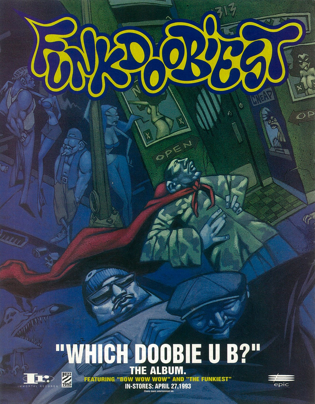 Funkdoobiest 'Which Doobie U B?' (May 4, 1993) Advertisement
